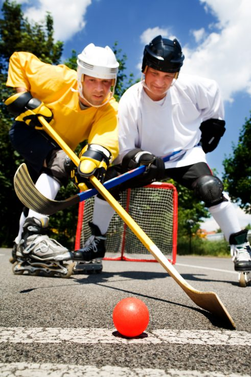 from Otto adult roller hockey league